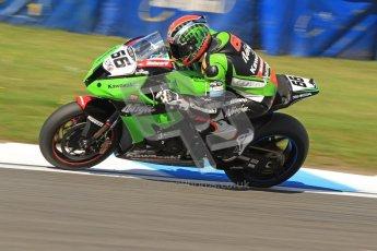 © Octane Photographic Ltd. 2012 World Superbike Championship – European GP – Donington Park. Friday 11th May 2012. WSBK Friday Qualifying practice. Tom Sykes - Kawasaki ZX-10R. Digital Ref : 0330cb7d1585