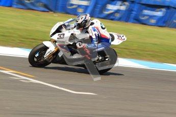 © Octane Photographic Ltd. 2012 World Superbike Championship – European GP – Donington Park. Friday 11th May 2012. WSBK Friday Qualifying practice. Marco Melandri - BMW S1000RR. Digital Ref : 0330cb7d1600