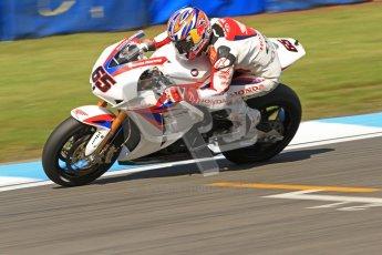 © Octane Photographic Ltd. 2012 World Superbike Championship – European GP – Donington Park. Friday 11th May 2012. WSBK Friday Qualifying practice. Jonathan Rea - Honda CBR1000RRDigital Ref : 0330cb7d1616