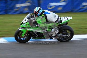 © Octane Photographic Ltd. 2012 World Superbike Championship – European GP – Donington Park. Friday 11th May 2012. WSBK Friday Qualifying practice. Leandro Mercado - Kawasaki ZX-10R. Digital Ref : 0330cb7d1674