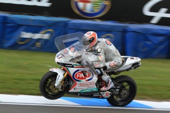 © Octane Photographic Ltd. 2012 World Superbike Championship – European GP – Donington Park. Friday 11th May 2012. WSBK Friday Qualifying practice. Lorenzo Zanetti - Ducati 1098R. Digital Ref : 0330cb7d1876