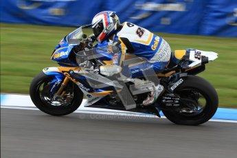 © Octane Photographic Ltd. 2012 World Superbike Championship – European GP – Donington Park. Friday 11th May 2012. WSBK Friday Qualifying practice. Ayrton Bodovini - BMW S1000RR. Digital Ref : 0330cb7d1882