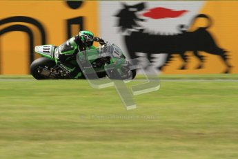 © Octane Photographic Ltd. 2012 World Superbike Championship – European GP – Donington Park. Friday 11th May 2012. WSBK Friday Qualifying practice. Gary Mason - Kawasaki ZX-10R. Digital Ref : 0330lw7d3863