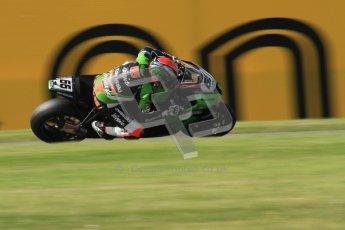 © Octane Photographic Ltd. 2012 World Superbike Championship – European GP – Donington Park. Friday 11th May 2012. WSBK Friday Qualifying practice. Tom Sykes - Kawasaki ZX-10R. Digital Ref : 0330lw7d4142