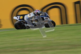 © Octane Photographic Ltd. 2012 World Superbike Championship – European GP – Donington Park. Friday 11th May 2012. WSBK Friday Qualifying practice. Ayrton Badovini - BMW S1000RR. Digital Ref : 0330lw7d4279