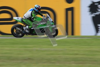 © Octane Photographic Ltd. 2012 World Superbike Championship – European GP – Donington Park. Friday 11th May 2012. WSBK Friday Qualifying practice. Leandro Mercado - Kawasaki ZX-10R. Digital Ref : 0330lw7d4292