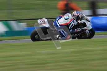 © Octane Photographic Ltd. 2012 World Superbike Championship – European GP – Donington Park. Friday 11th May 2012. WSBK Friday Qualifying practice. Marco Melandri - BMW S1000RR. Digital Ref : 0330lw7d4307