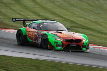 World © Octane Photographic Ltd. Avon Tyres British GT Championship Practice, Oulton Park, UK, Saturday 4th April 2015. BMW Z4 GT3 – Pro/Am, Team Russia by Barwell Racing with Demon Tweeks – Jon Minshaw and Phil Keen. Digital Ref : 1215LB1D2162