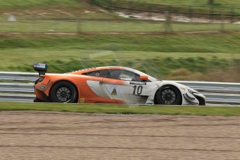 World © Octane Photographic Ltd. Avon Tyres British GT Championship Practice, Oulton Park, UK, Saturday 4th April 2015. McLaren 650S – Silver Cup, VonRyanRacing – Ross Wylie and Andrew Watson. Digital Ref : 1215LW1L7819