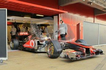 World © Octane Photographic 2011. Formula 1 testing Monday 21st February 2011 Circuit de Catalunya. McLaren MP4/26 - Lewis Hamilton. Digital ref : 0012CB1D2614