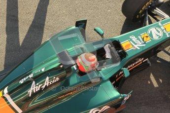 World © Octane Photographic 2011. Formula 1 testing Monday 21st February 2011 Circuit de Catalunya. Lotus T124 - Jarno Trulli. Digital ref : 0012CB1D2797