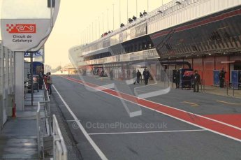 World © Octane Photographic 2011. Formula 1 testing Monday 21st February 2011 Circuit de Catalunya. Digital ref : 0012LW7D5303