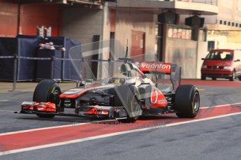 World © Octane Photographic 2011. Formula 1 testing Monday 21st February 2011 Circuit de Catalunya.  Digital ref : 0012LW7D5432