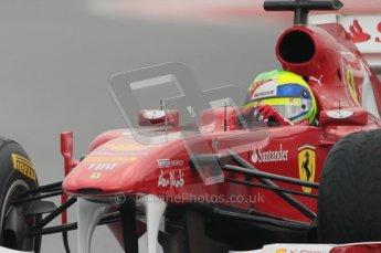 © Octane Photographic 2011. Formula 1 testing Sunday 20th February 2011 Circuit de Catalunya. Ferrari 150° Italia - Felipe Massa. Digital ref : 0010CB1D1864