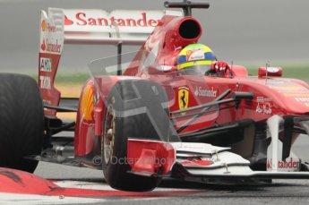 © Octane Photographic 2011. Formula 1 testing Sunday 20th February 2011 Circuit de Catalunya. Ferrari 150° Italia - Felipe Massa. Digital ref : 0010CB1D2103