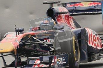 © Octane Photographic 2011. Formula 1 testing Sunday 20th February 2011 Circuit de Catalunya. Toro Rosso STR6 - Daniel Ricciardo. Digital ref : 0010CB1D2305