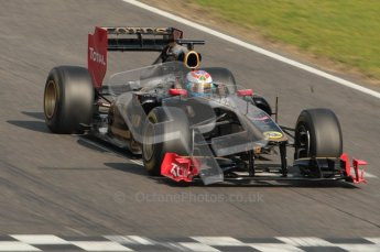 © Octane Photographic 2011. Formula 1 testing Sunday 20th February 2011 Circuit de Catalunya. Renault R31 - Vitaly Petrov. Digital ref : 0010CB1D2435