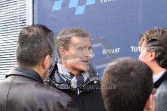 © Octane Photographic 2011. Formula 1 testing Sunday 20th February 2011 Circuit de Catalunya. David Coulthard. Digital ref : 0010LW7D4600