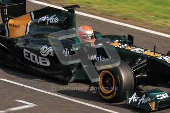 © Octane Photographic 2011. Formula 1 testing Sunday 20th February 2011 Circuit de Catalunya. Lotus T124 - Jarno Trulli. Digital ref : 0010LW7D4645