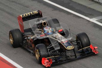 © Octane Photographic 2011. Formula 1 testing Sunday 20th February 2011 Circuit de Catalunya. Renault R31 - Vitaly Petrov. Digital ref : 0010LW7D5077