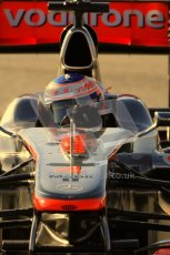 World © Octane Photographic 2010. © Octane Photographic 2011. Formula 1 testing Friday 18th February 2011 Circuit de Catalunya. McLaren MP4/26 - Jenson Button. Digital ref : 0024CB7D0079