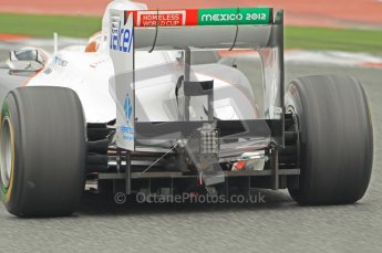 World © Octane Photographic 2011. Formula 1 testing Wednesday 9th March 2011 Circuit de Catalunya. Sauber C30 - Kamui Kobayashi. Diffuser. Digital ref : 0020CB1D1791