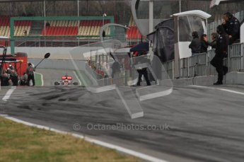 World © Octane Photographic 2011. Formula 1 testing Wednesday 9th March 2011 Circuit de Catalunya. McLaren MP4/16 - Lewis Hamilton. Digital ref : 0020LW7D0313