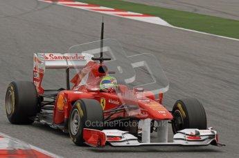 World © Octane Photographic 2011. Formula 1 testing Wednesday 9th March 2011 Circuit de Catalunya. Ferrari 150° Italia - Felipe Massa. Digital ref : 0020LW7D8966