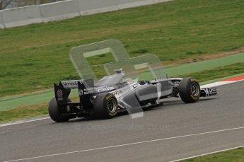 World © Octane Photographic 2011. Formula 1 testing Wednesday 9th March 2011 Circuit de Catalunya. Williams FW33 - Pastor Maldonado. Digital ref : 0020LW7D9233