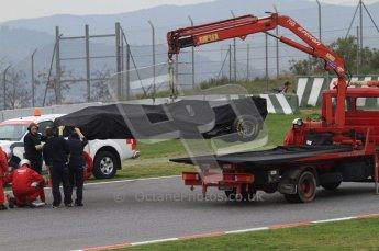 World © Octane Photographic 2011. Formula 1 testing Wednesday 9th March 2011 Circuit de Catalunya. Williams FW33 - Pastor Maldonado. Digital ref : 0020LW7D9301