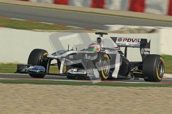 World © Octane Photographic 2011. Formula 1 testing Thursday 10th March 2011 Circuit de Catalunya. Williams FW33 - Rubens Barrichello. Digital ref : 0023cb1d2927