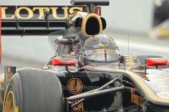 World © Octane Photographic 2011. Formula 1 testing Friday 11th March 2011 Circuit de Catalunya. Renault R31 - Nick Heidfeld. Digital ref : 0022CB1D3895