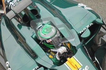 World © Octane Photographic 2011. Formula 1 testing Friday 11th March 2011 Circuit de Catalunya. Lotus T124 - Heikki Kovalainen. Digital ref : 0022CB1D3941