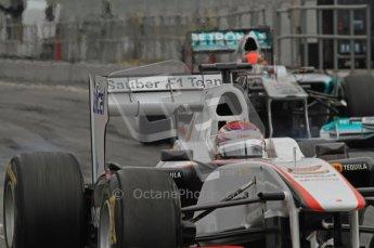 World © Octane Photographic 2011. Formula 1 testing Friday 11th March 2011 Circuit de Catalunya. Mercedes MGP W02 - Michael Schumacher. Digital ref : 0022LW7D3105