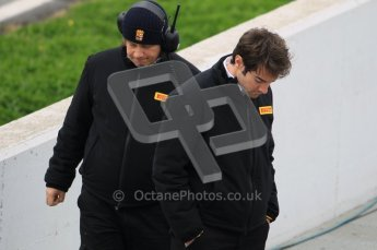 World © Octane Photographic 2011. Formula 1 testing Tuesday 8th March 2011 Circuit de Catalunya. Pirelli.  Digital ref : 0017CB1D0297