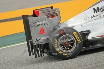 World © Octane Photographic 2011. Formula 1 testing Tuesday 8th March 2011 Circuit de Catalunya. McLaren MP4/26 - Jenson Button. Digital ref : 0017CB1D0607