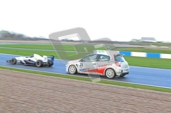 © Octane Photographic Ltd. 2011. Donington Winter Test. Digital Ref : 0202LW7D0128