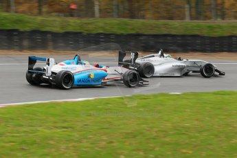 World © Octane Photographic Ltd. Brands Hatch, Race 3, Sunday 24th November 2013. BRDC Formula 4 Winter Series, MSV F4-13,  – Kieran Vernon - Hillspeed. Digital Ref : 0867cb1d7618