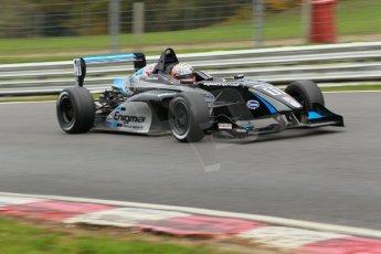 World © Octane Photographic Ltd. Brands Hatch, Race 3, Sunday 24th November 2013. BRDC Formula 4 Winter Series, MSV F4-13, Falco Wauer – Enigma Motorsport. Digital Ref : 0867cb1d7620