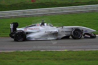 World © Octane Photographic Ltd. Brands Hatch, Race 4, Sunday 24th November 2013. BRDC Formula 4 Winter Series, MSV F4-13,  – Kieran Vernon - Hillspeed. Digital Ref : 0868lw7d4572