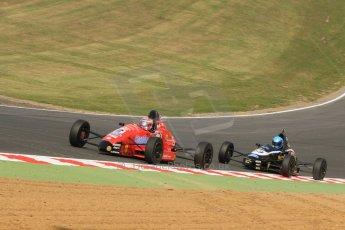 World © Octane Photographic Ltd. British Formula Ford – Brands Hatch, September 2nd 2011. Jamun Racing - Scott Malvern and Rendez-Vous Racing / Enigma Motorsport - Philippe Layac. Digital Ref : 0875cb7d1553