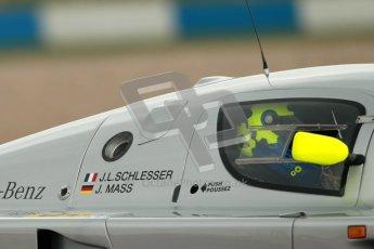 © Octane Photographic Ltd. 2012 Donington Historic Festival. Group C sportscars, qualifying. Sauber C9 - Gareth Evans. Digital Ref : 0320cb1d8728