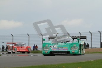 © Octane Photographic Ltd. 2012 Donington Historic Festival. Group C sportscars, qualifying. Cheetah CT606 - Eric Rickenbacher. Digital Ref : 0320lw7d9484