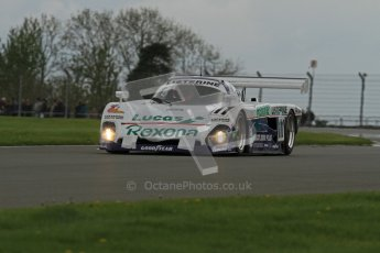 © Octane Photographic Ltd. 2012 Donington Historic Festival. Group C sportscars, qualifying. Spice SE88 - Mike Donovan. Digital Ref : 0320lw7d9555