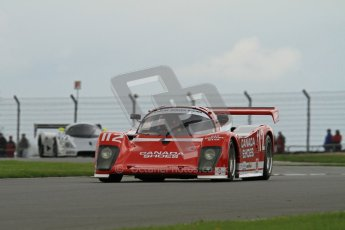 © Octane Photographic Ltd. 2012 Donington Historic Festival. Group C sportscars, qualifying. Tiga GT287 - Jonathan Fay. Digital Ref : 0320lw7d9571