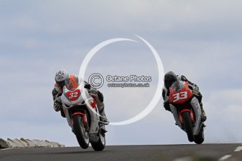 © Octane Photographic Ltd 2011. NW200 Thursday 19th May 2011. Herve Gantner, Honda - Rhino Universal; Adrian Clark, Honda - BHR Racing. Digital Ref : LW7D1739