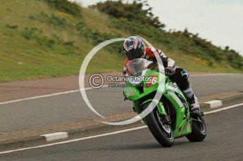 © Octane Photographic Ltd 2011. NW200 Thursday 19th May 2011. Mark Buckley, Kawasaki - OTSS Racing. Digital Ref : LW7D1748
