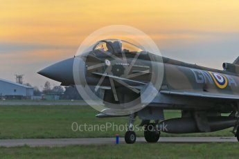 "World © Octane Photographic Ltd. November 23rd 2015. Eurofighter Typhoon FGR.4 ZK349 ""Battle of Britain"". RAF Coningsby. Digital Ref :"