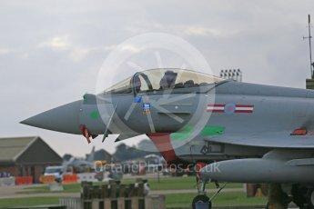 """World © Octane Photographic Ltd. October 6th 2015. RAF Coningsby. Eurofighter Typhoon ZJ944, 1435 Flight, """"F-Faith"""". Digital Ref : 1454CB1D6504"""