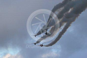 World © Octane Photographic Ltd. Red Arrows pre-season practice. RAF Scampton, 12th January 2016. BAe Hawk T1A